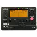 KORG Tuner/Metronome [TM50BK] - Black - Tuner Portable